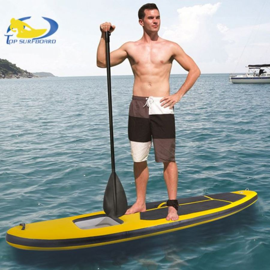New Design Red Yellow ISUP Inflatable Stand Up Paddle Board