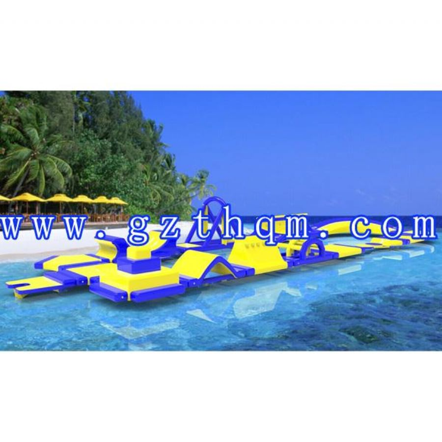 Adults Airtight Pvc Tarpaulin Inflatable Water Toys.floating Water Parks,water Obstacle