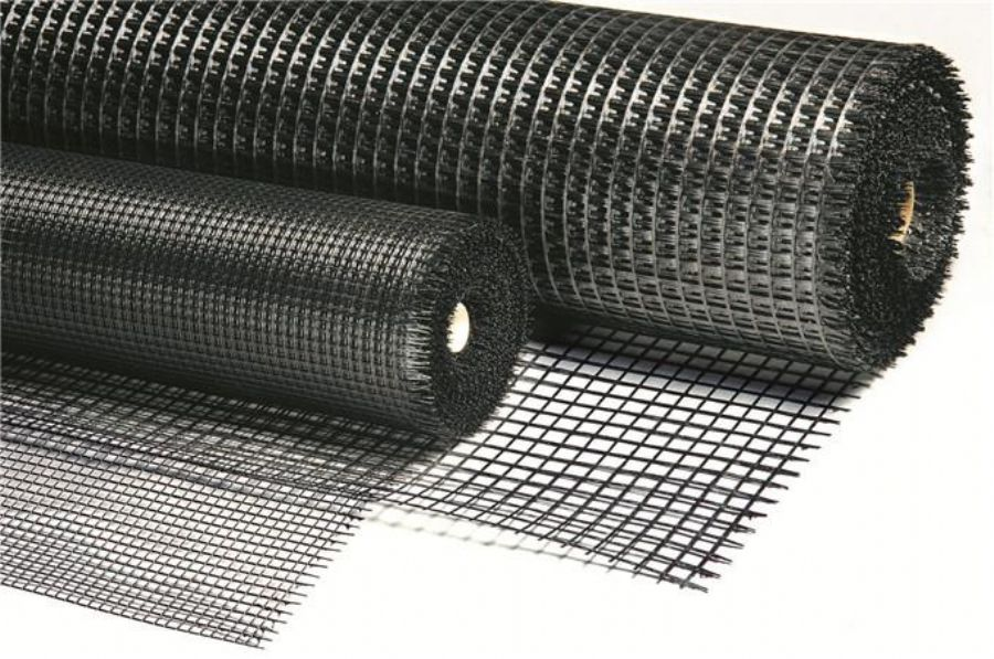 Self-adhesive Biaxial Fiberglass Geogrid Adhesion For Reinforced Overlays And Asphalt Pavement