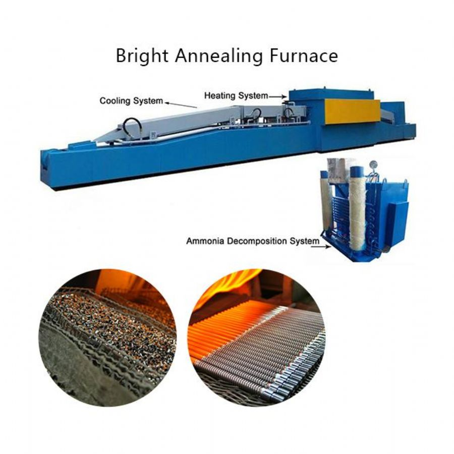 Hydrogen Protective Atmosphere Multifunctional Bright Annealing Muffle Furnace With Annealing