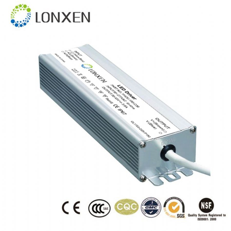 UL DLC TUV Dimmable LED Driver 0-10v Dimming
