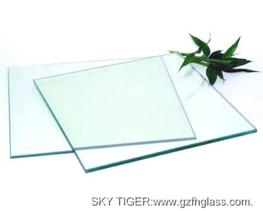 Good Quality And Best Price Clear Flat Tempered Galss Panels For Balustrade,Floor And Table-Bored