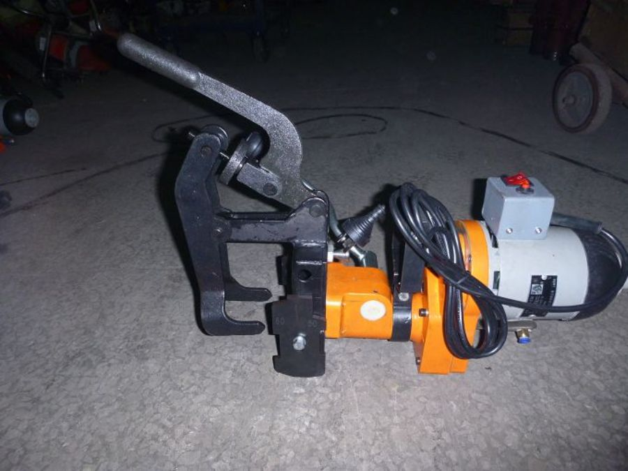 ZG-31III Easy Operational Electric Rail Drilling Machine