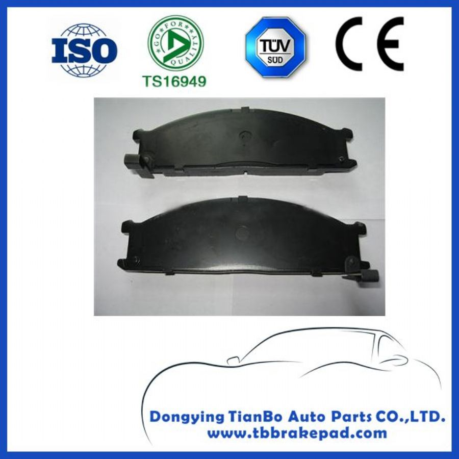 Nissan Frontier Low Noise Semi - metallic Painted Plastic Front Brake Pad