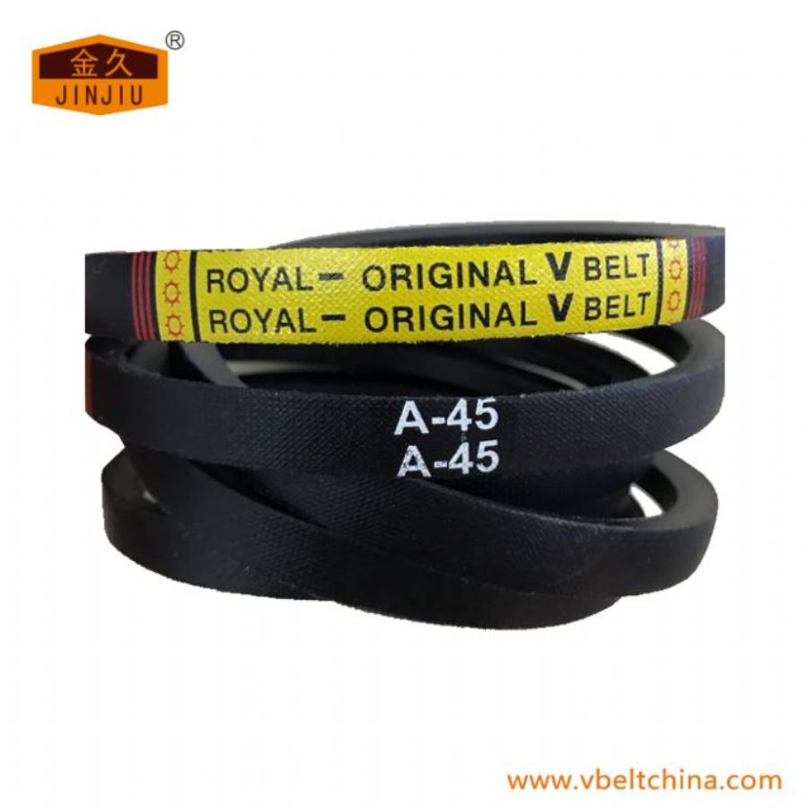 Royal-original A Section Ordinary Wrapped V Belt Size From A18 Inch To A180 Inch Top Width
