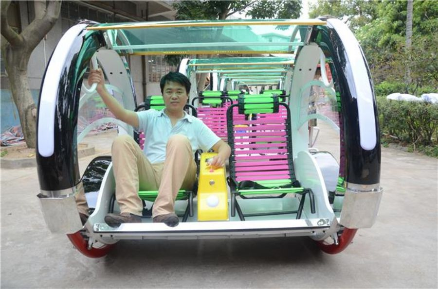 360 Angles Balance Happy Le Bar Car Rides Easyfun Swing Car Electronic Happy Car For Playground