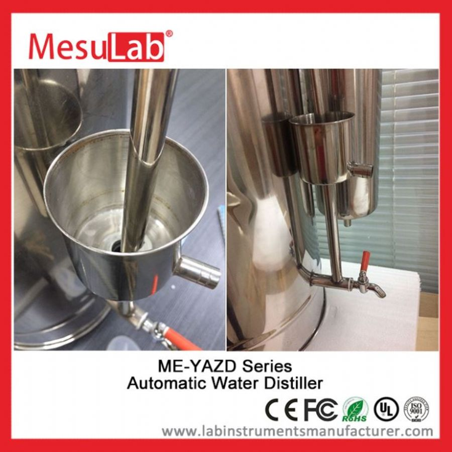Water Distiller Automatic Electric Tabletop For Laboratory And Alcohol