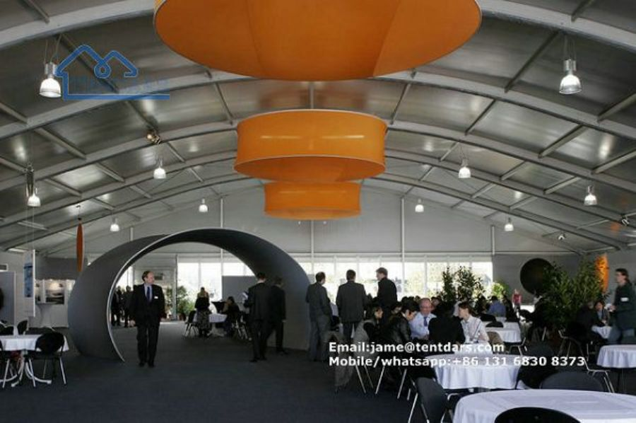 Aluminium A Shape Frame Big Party Tents For Outdoor Banquet Event