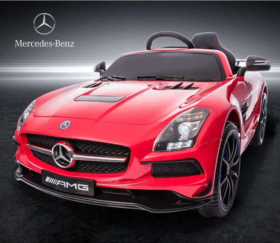 Mercedes-Benz License Car 12v With Remote Control For Baby SX128