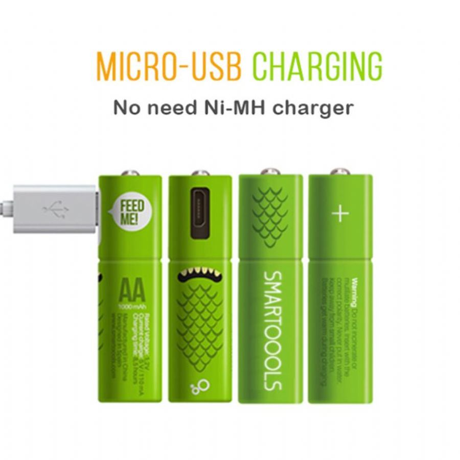 Rechargeable_AA_Batteries_Best_Rechargeable_AA_Type_Battery_4_Pieces_Each_Package_Micro_Usb_Cable