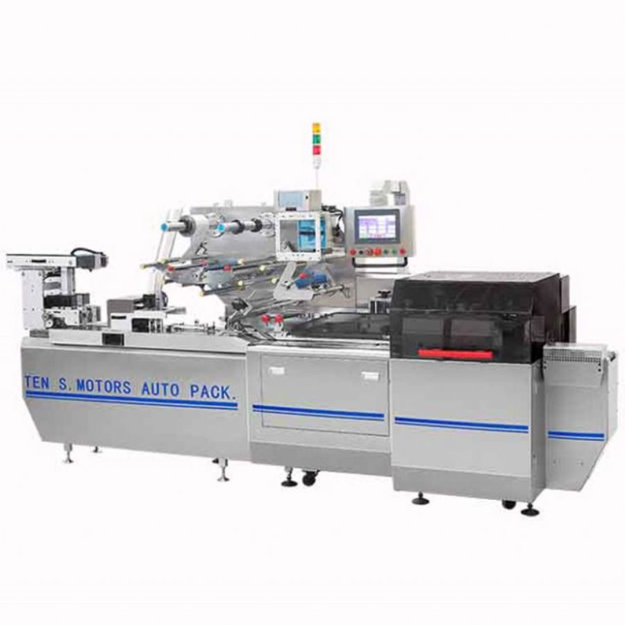 PLC Control Fully Automatic Pharmaceuticl Tablet Blister Packing Machine