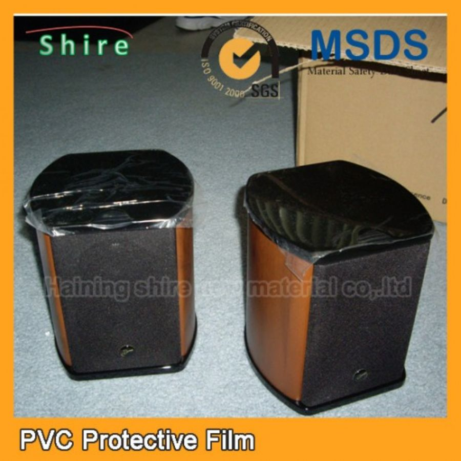 PVC Embossed Speakers Protective Film Environmentally Friendly