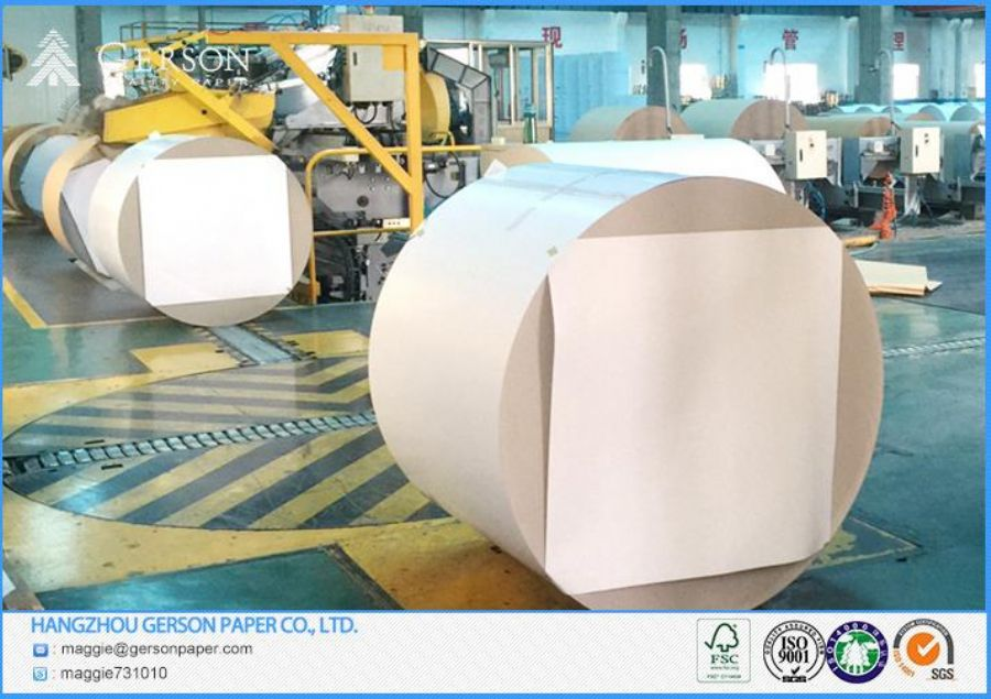 AA Quality Roll Duplex Paper Board Grey Back 250gsm