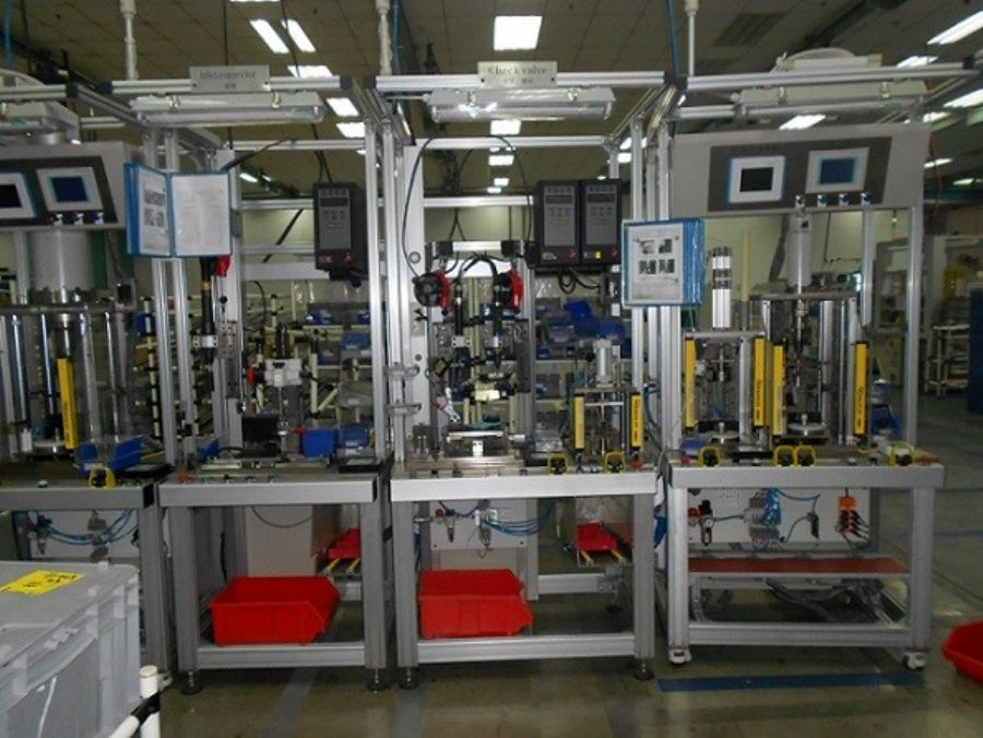 Auto spare parts production line