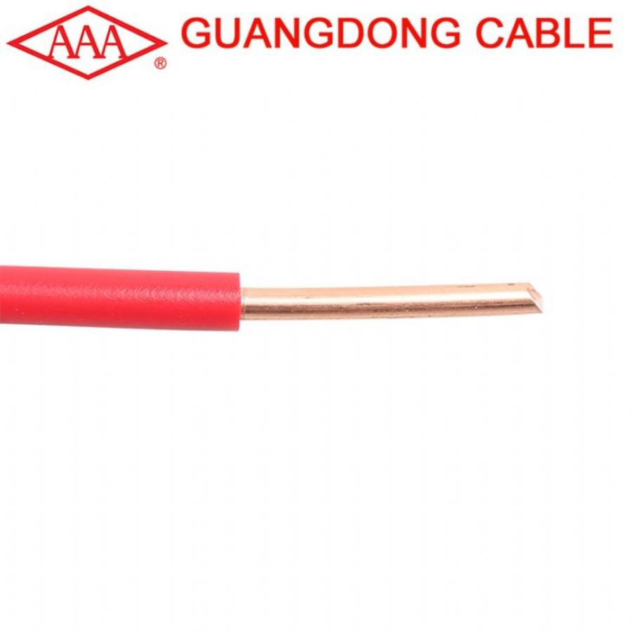 Home Copper Electrical Cable Wire Solid Conductor Pvc Insulated 1.5 Mm Cables Wiring