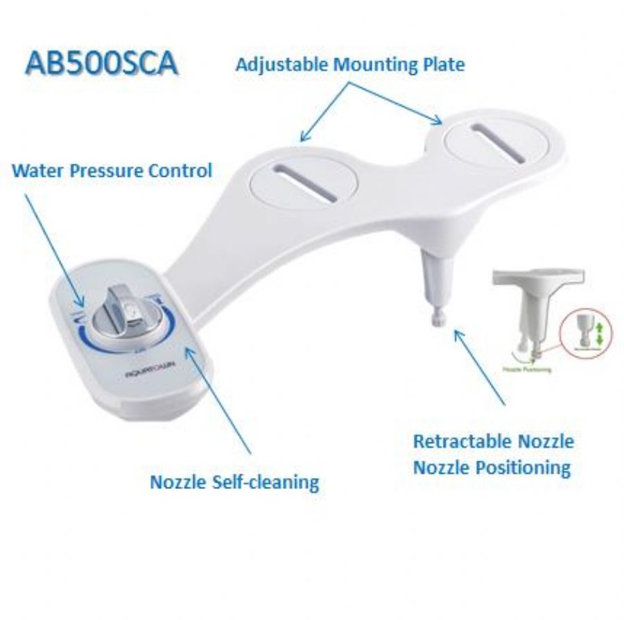 Cold Water Toilet Bidet Attachment
