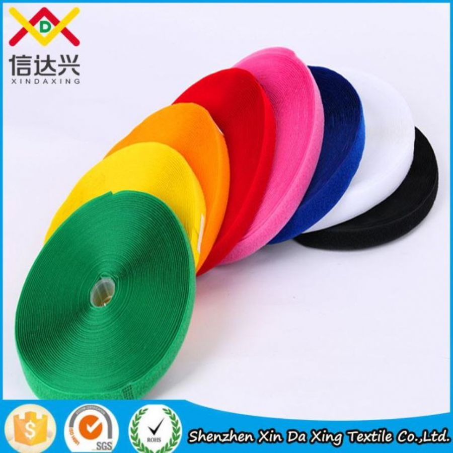 100%nylon Hot Sale SGS Garment Sew On Hook And Loop Tape