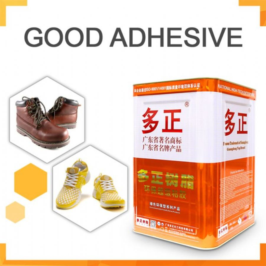 Natural Rubber Based Adhesive For Bonding Shoe Lining And Upper