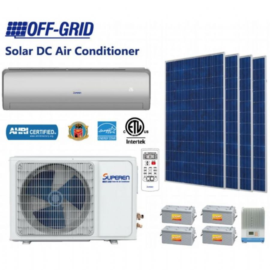 9000BTU_DC48V_Solar_Air_Conditioner_For_Home_Solar_Cooling_Systems_And_Solar_Cooling_Systems_Solar_A