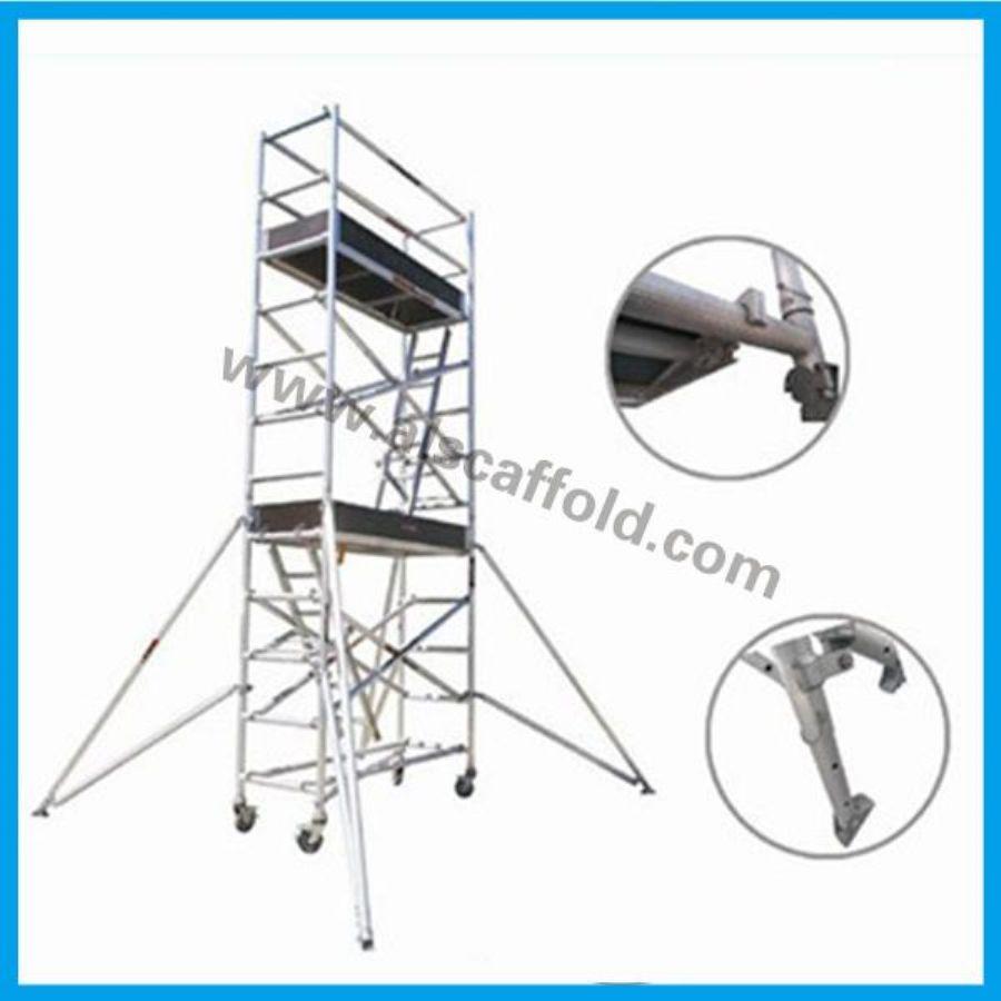 Single Width Aluminum Tower