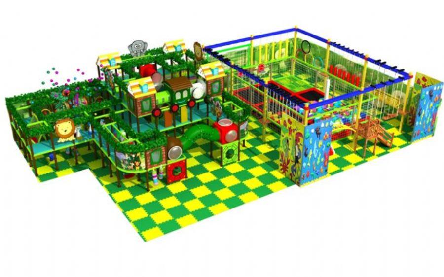 Children's Ocean Theme Indoor Playground