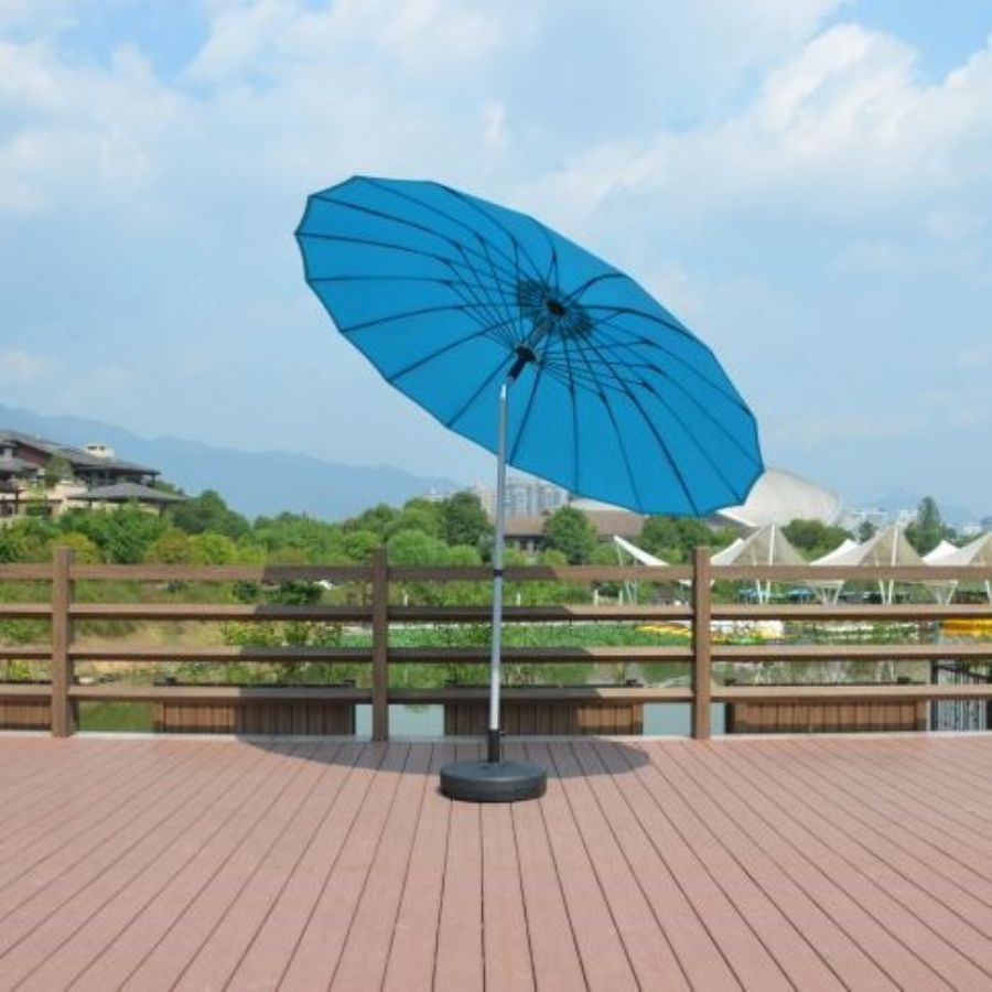 Garden Cantiever Umbrella With 18 Fiberglass Ribs