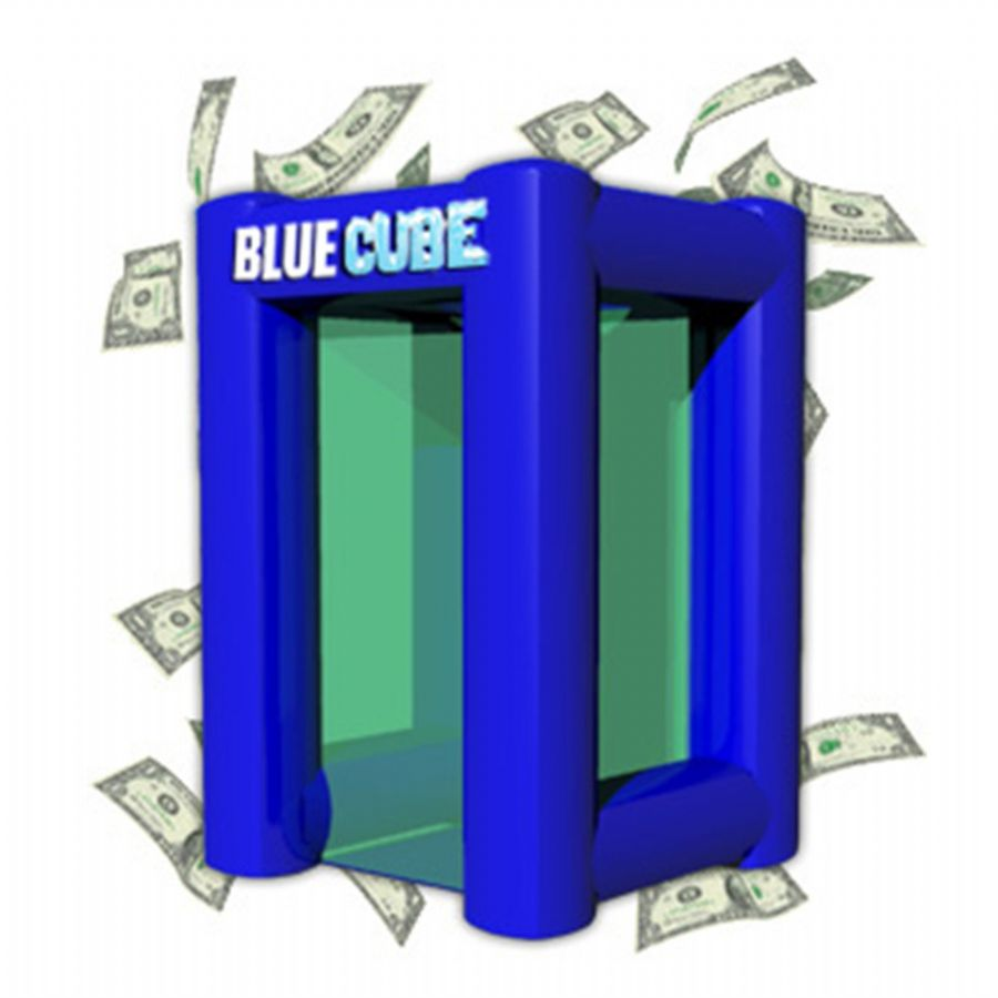 9ft Inflatable Cash Cube Money Booths Cash Machine