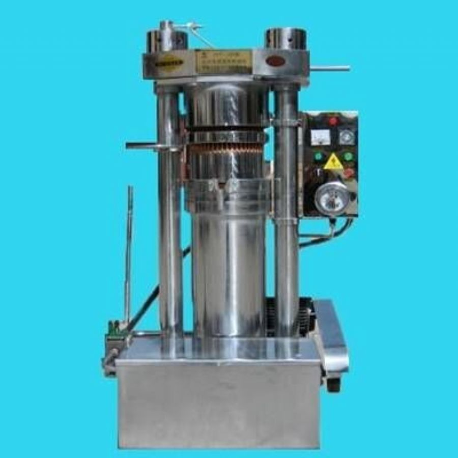 Rapeseed hydraulic press