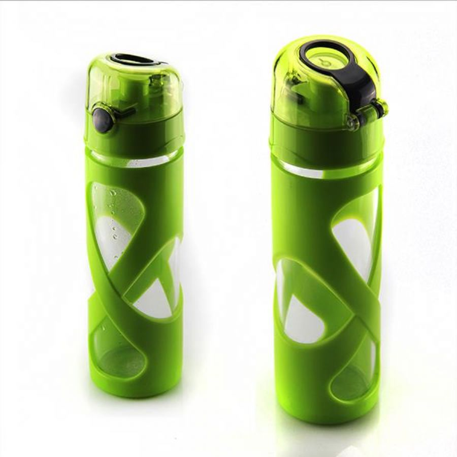 CL-341 500ML Outdoor Borosilicate Glass Water Bottle Recycled - metal Filter Bottles Wholesale Glass