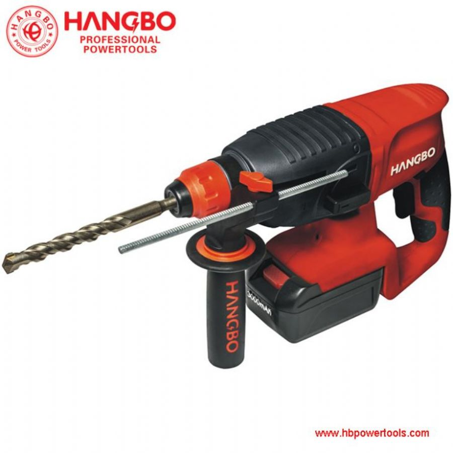 Cordless_Rotary_Hammer_Li_ion_Convenient_For_Fitment