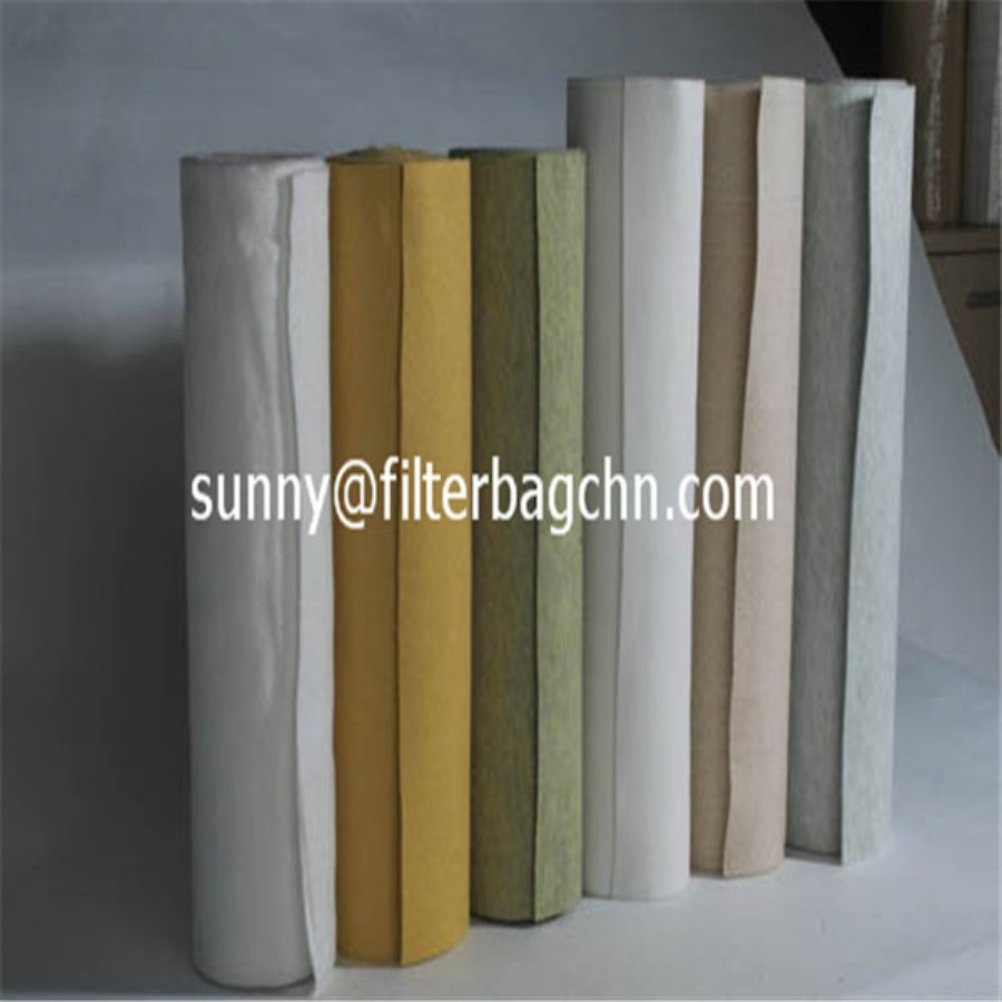 High Tensile Strength Polyester Filter Cloth For Dust Collector Bags