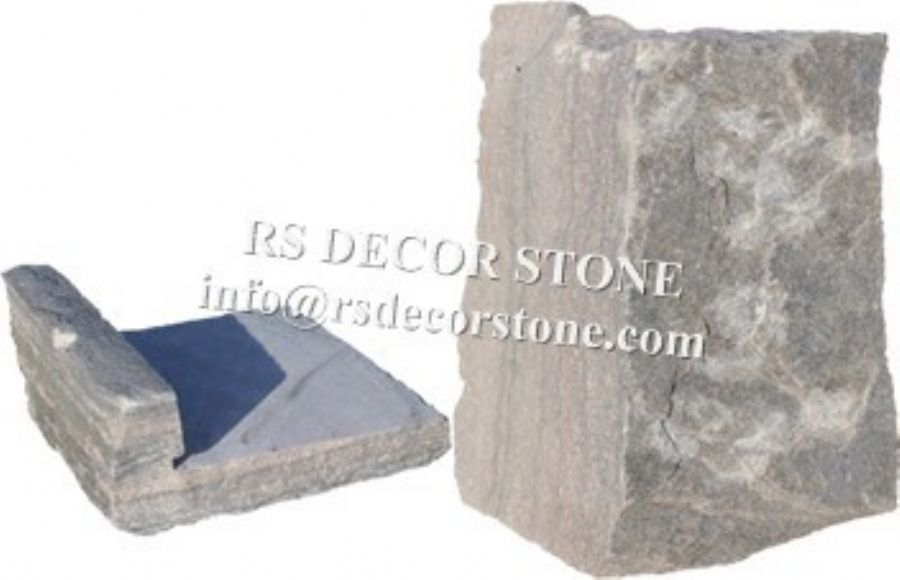 Sage Green Quartzite Castle Stone