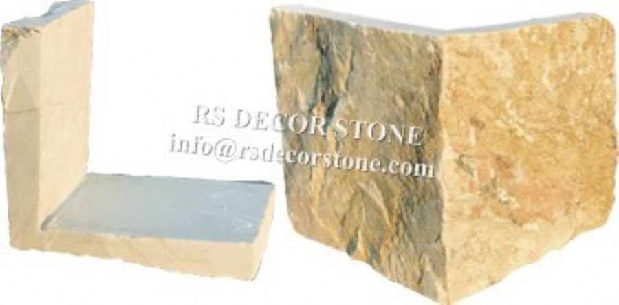 Brilliant Golden Limestone Castle Stone