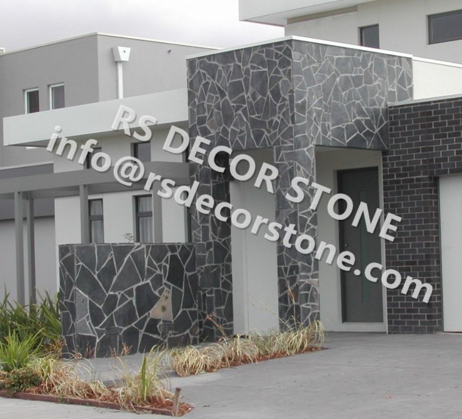 Wholesale Black Slate Flagstone