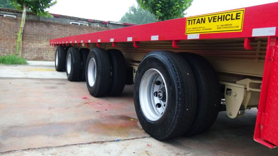 TITAN_VEHICL_3_axle_60T_shipping_container_transport_trailer