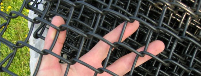 PVC Vinyl Coated Chain Link Fence