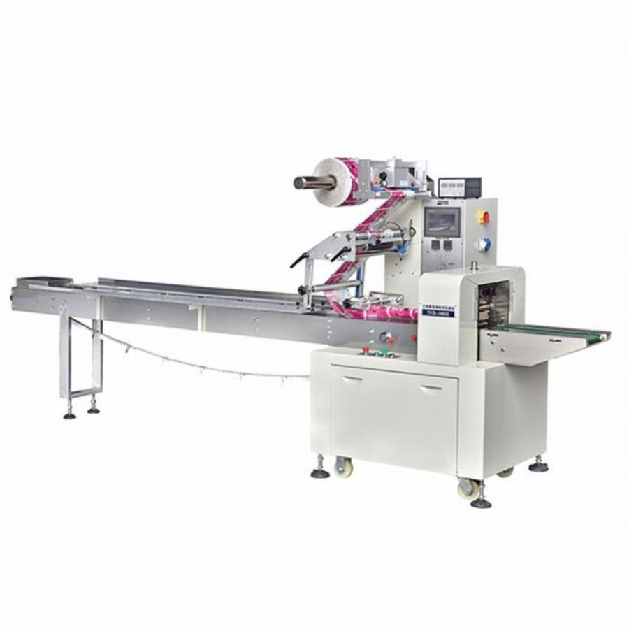 Horizontal Biscuit Flow Wrap Packaging Machine
