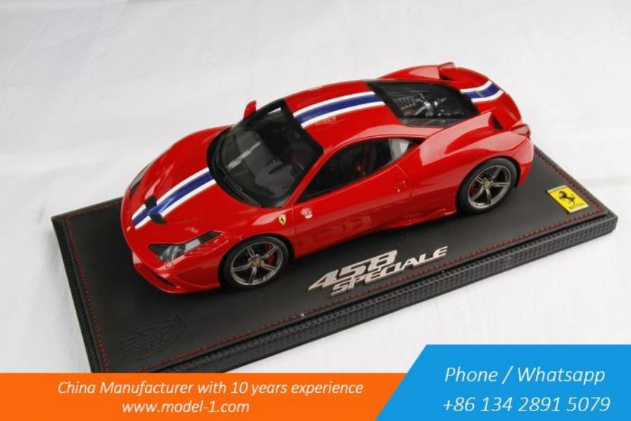 1 18 Scale Diecast Car Model For Ferrari 458 Speciale