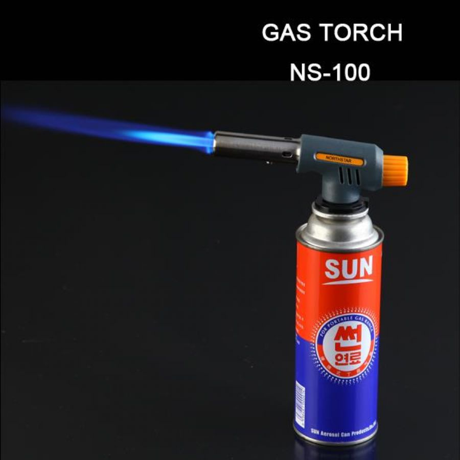 Portable Butane Gas Torch One-touch Piezoelectric Ignition For Heating Micro Welding NS-100