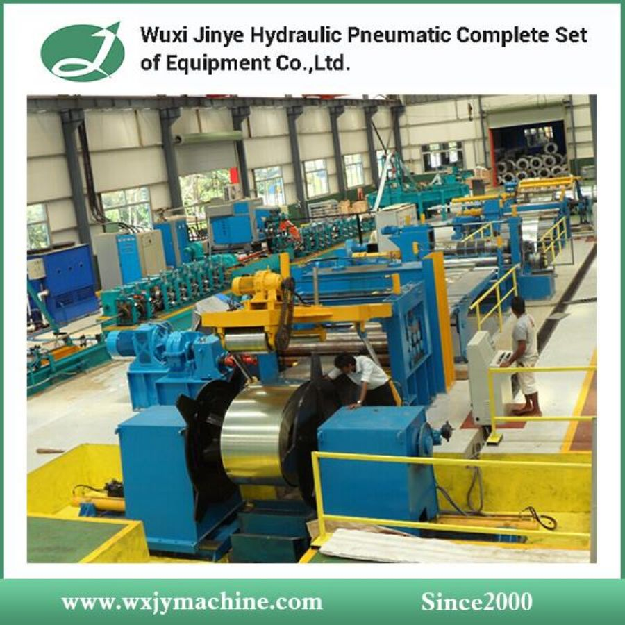 CRC, GI, PPGI Steel Coil Slitting Line Machine