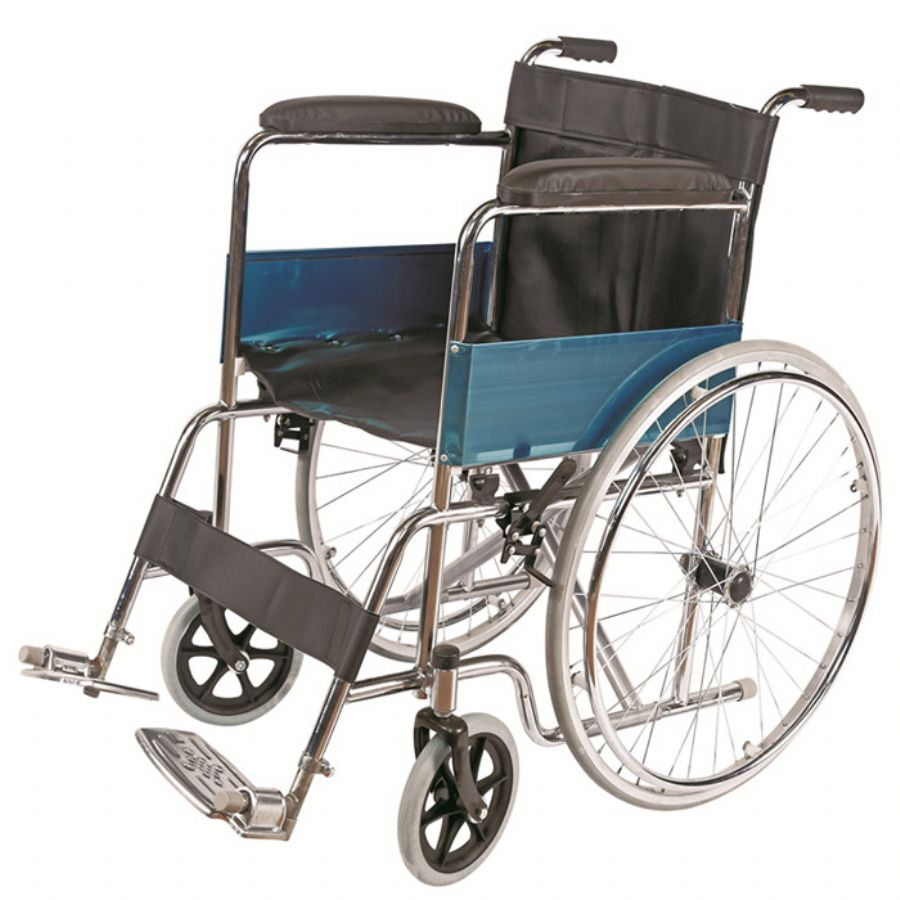 Chromed Manual Wheelchair