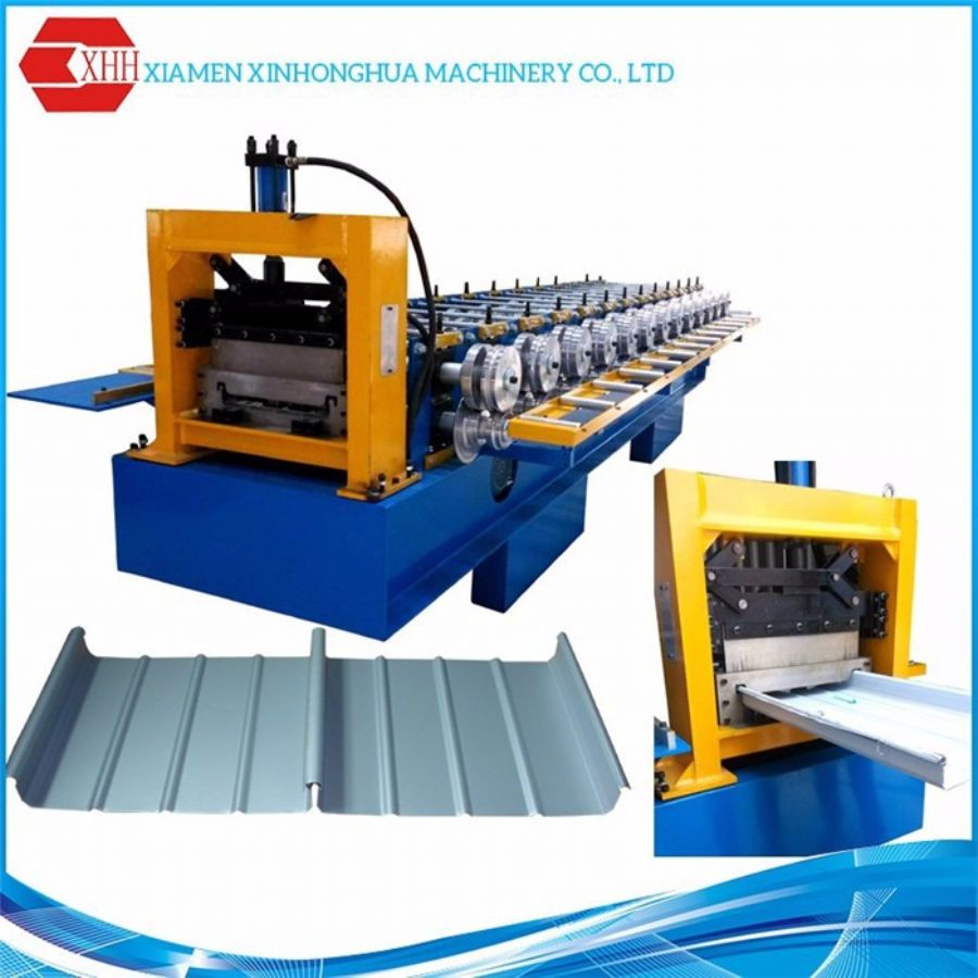 Standing Seam Roofing Machine