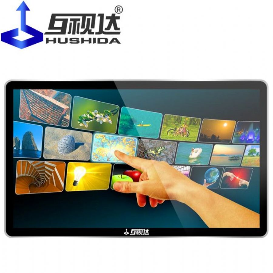 Touch_Screen_Wall_Mount_Advertising_Player