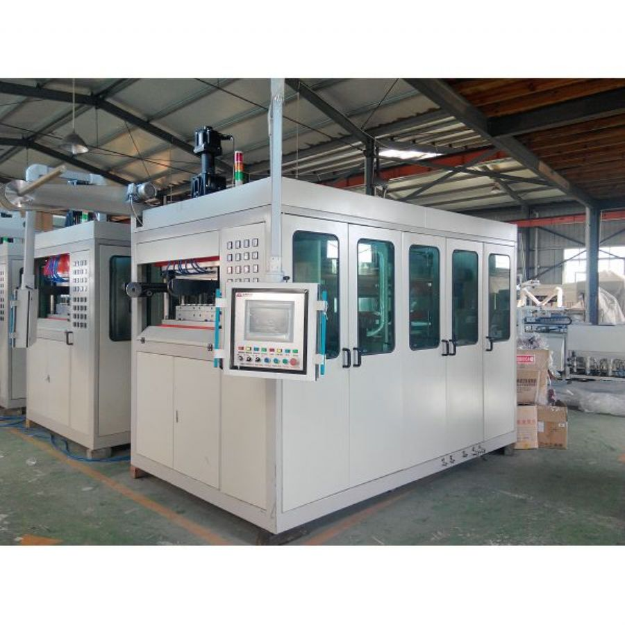 Plastic Air Pressure Thermoforming Machine