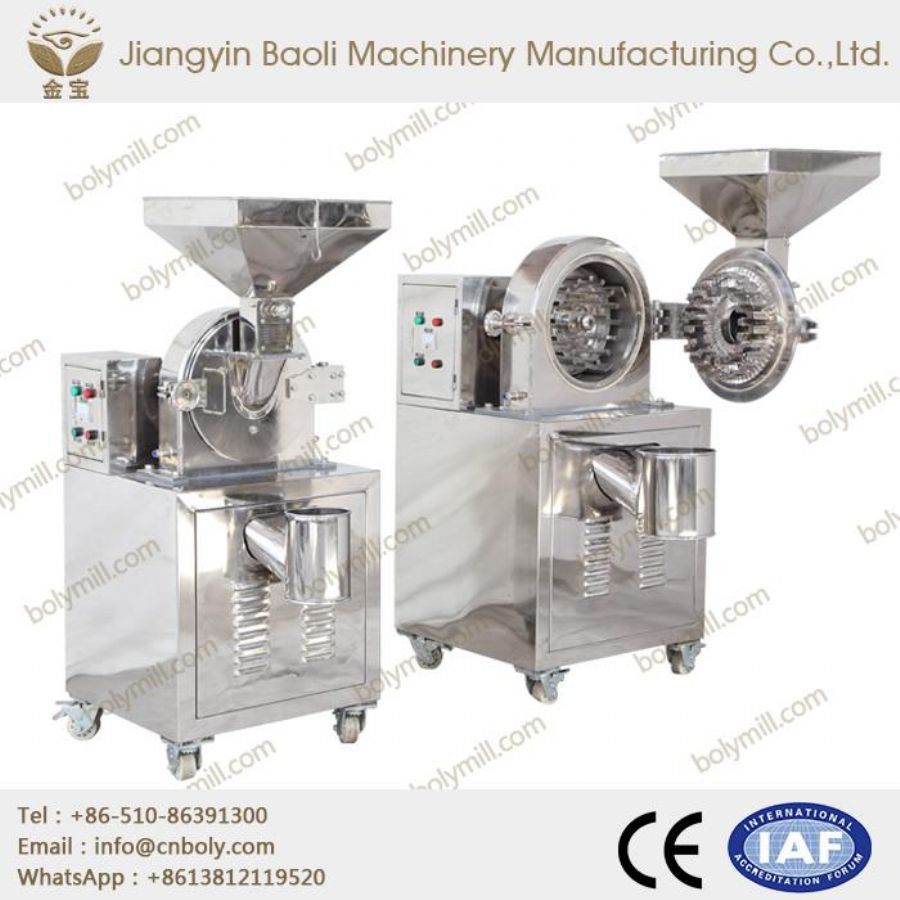 Disc Pulverizer Machine For Spices