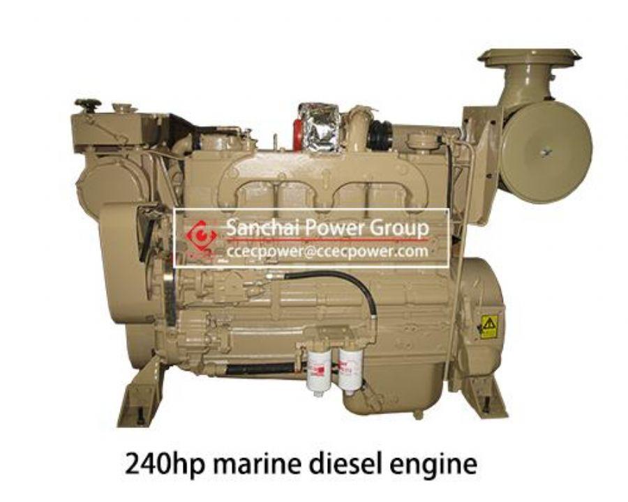 240hp_Marine_Diesel_Engine