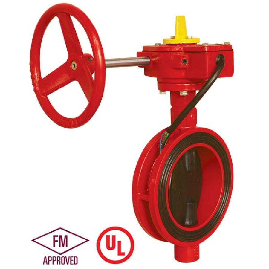 UL FM Fire Protection Wafer Butterfly Valve