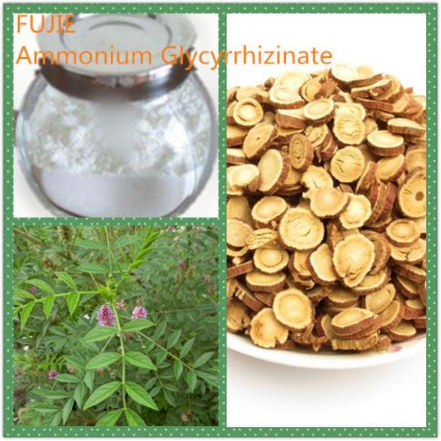 GMP_Factory_Supplier_Natural_98%_102%_Ammonium_Glycyrrhizinate