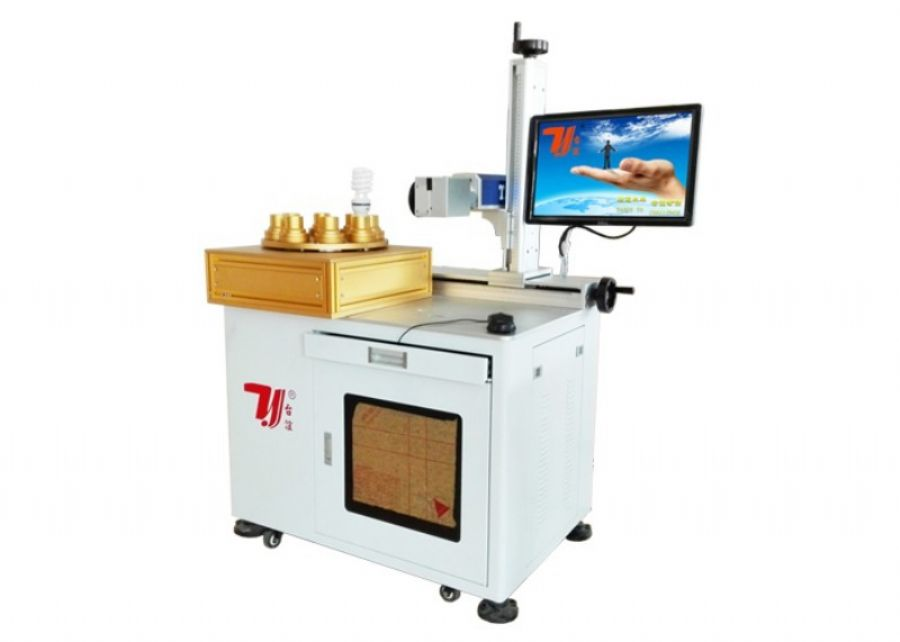 Automatic LED bulbs laser printing machine