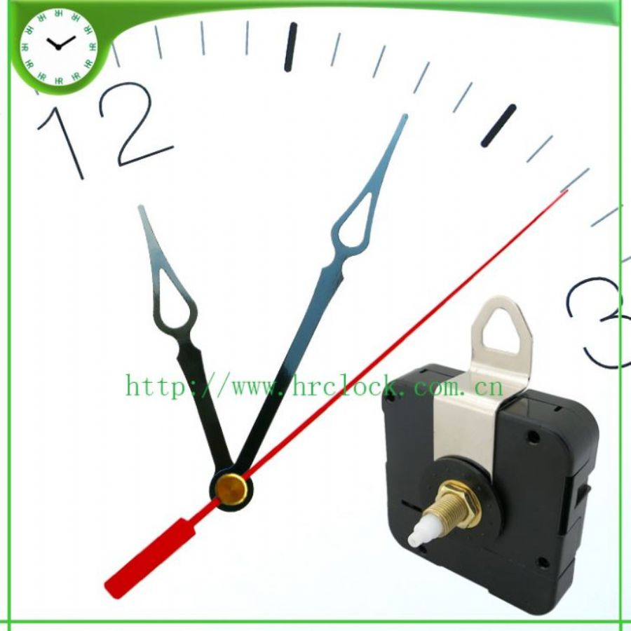 Iron Hook Wall Clock